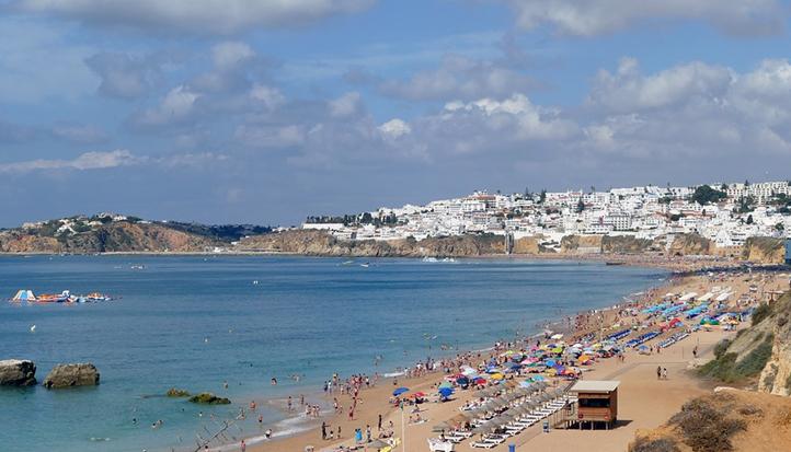 as melhores praias para as ferias em albufeira